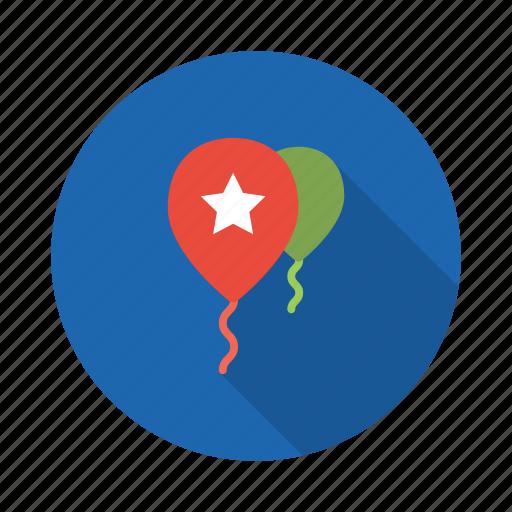 Balloon, party, birthday, celebration, decoration, wedding icon - Download on Iconfinder