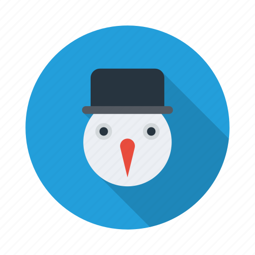cloudy, cold, snow, snowflake, snowman, weather, winter icon