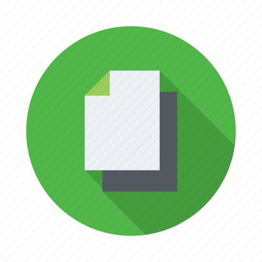 document, documents, page, paper, sheet icon