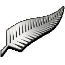 fern, silver icon