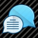 chat, conversation, journalist, news icon