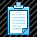 interview, list, news, note, recruitment