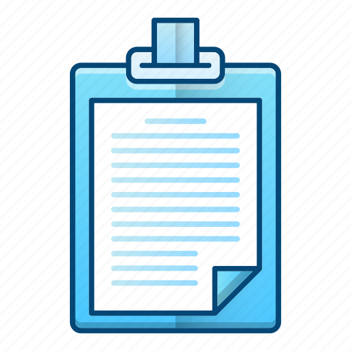 interview, list, news, note, recruitment icon