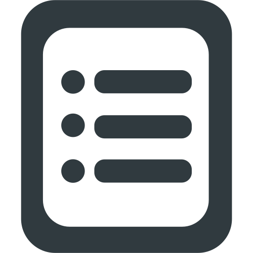 categories, configuration, document, file, list, options, settings icon