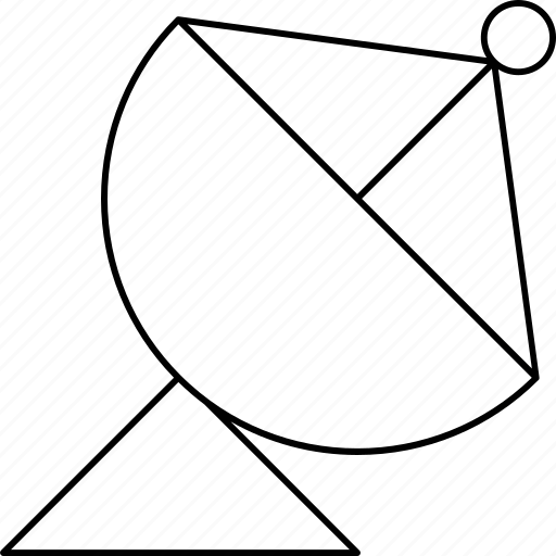 information, news, object, satellite icon