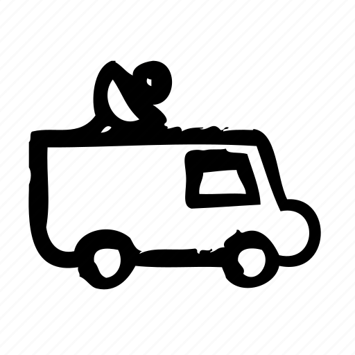 business, car, information, journalist, news, press, report icon