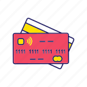 banking, cashless, credit card, digital, electronic, money, nfc icon