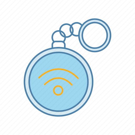 contactless, key, keychain, keyring, nfc, rfid, technology icon