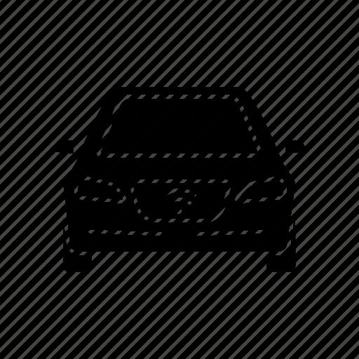 automobile, autonomous, driverless, nfc, self-driving, smart car, vehicle icon