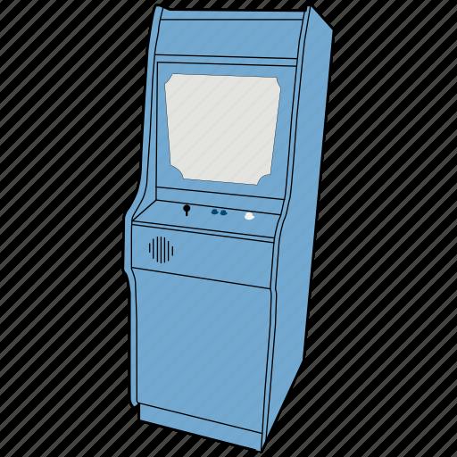 arcade, arcade machine, console, gaming, nintendo, nintendo dk arcade, retro icon