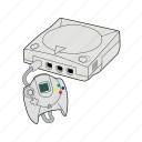 console, controller, gaming, retro, sega, sega dreamcast, system icon