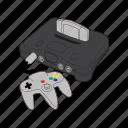 console, controller, n64, nintedo 64, nintendo, nintendo sixty four, retro icon