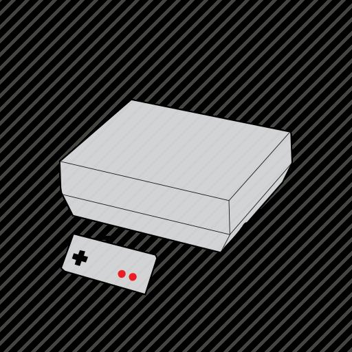 console, controller, gamepad, nes, nintendo, nintendo entertainment system, retro icon