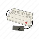 console, controller, gamepad, gaming, retro, sega, sg-1000 icon