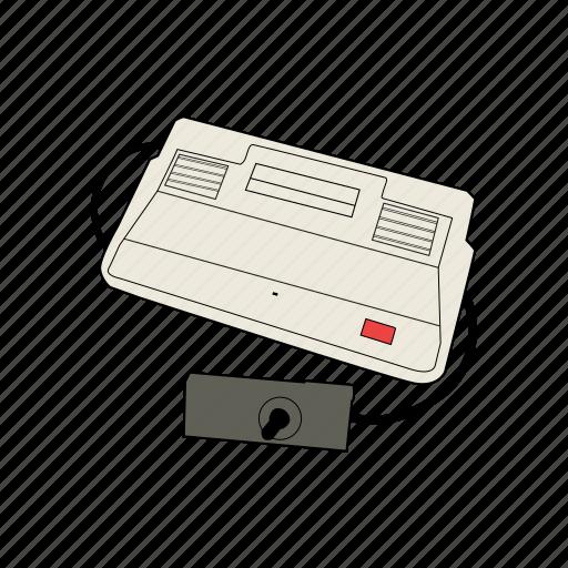 console, controller, gamepad, gaming, retro, sega, sg-1000 icon