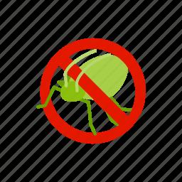 blog, disease, grasshopper, insect, isometric, pest, warning icon