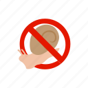 blog, caution, isometric, slug, snail, traffic, warning icon