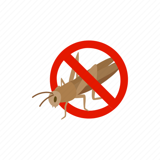blog, disease, insect, isometric, locust, pest, warning icon