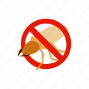 isometric, disease, blog, stag, insect, warning, beetle