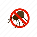 blog, bug, disease, insect, isometric, pest, warning icon