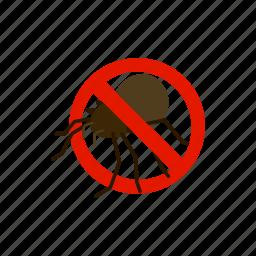 blog, bug, disease, insect, isometric, pest, warning icon