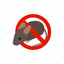ban, blog, isometric, mouse, poison, rat, warning