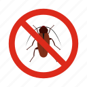 animal, bugs, control, disease, pest, prohibition, warning icon