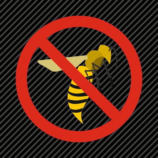 animal, control, disease, pest, prohibition, warning, wasps icon