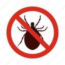 animal, clamp, control, disease, pest, prohibition, warning icon