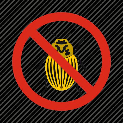 animal, beetles, colorado, control, disease, pest, prohibition icon