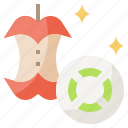 biodegradable, ecology, environment, pollution icon