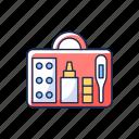 emergency, healthcare, equipment, traveler