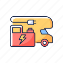 generator, electric, engine, caravan