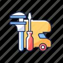 maintenance, mechanic, repair, garage