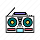 cassette, record, player, retro, memory, music