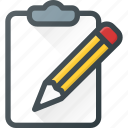 comment, edit, message, note, task icon