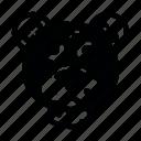 noth, pole12, зима, медведь, снег icon