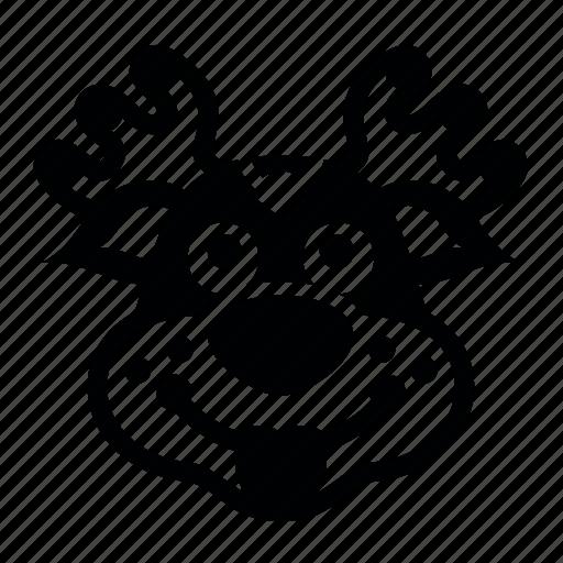 noth, pole15, олень, праздник, санта, упряжка icon