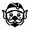 noth, pole8, рождество, санта, эльф icon
