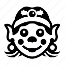 noth, pole9, помощник санты, рождество, санта, эльф icon
