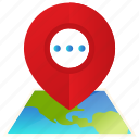 direction, location, map, navigation, pin, world