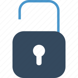 access, lock, padlock, password, protection, public, unlock icon