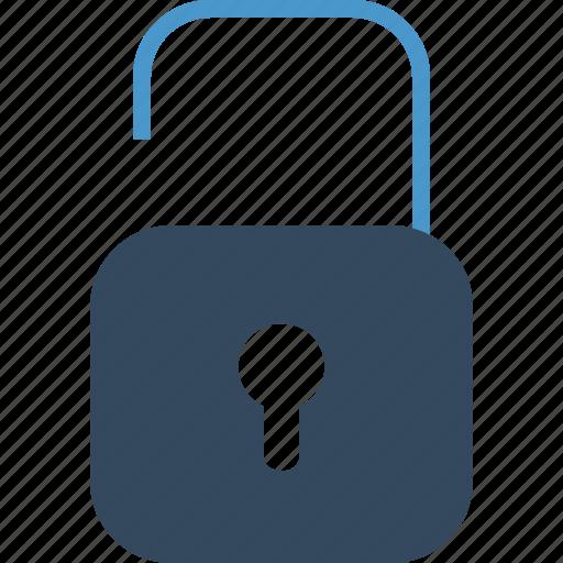 access, lock, padlock, password, protection, public, unlock icon