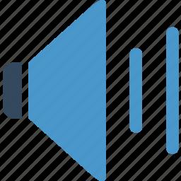 audio, loud, megaphone, music, sound, speaker, volume icon