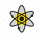 atom, danger, energy, nuclear, radiation