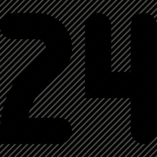 four, twenty icon