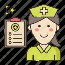 health, medical, nurse, practitioner icon