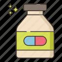 bottle, medicine, pill
