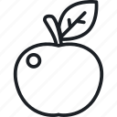 apple fruit, diet, food, nutrition icon