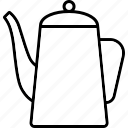 barista, beverage, coffee, drink, pot icon